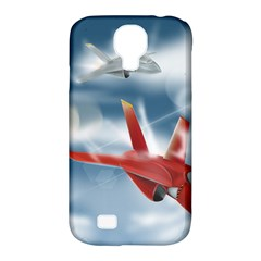 America Jet fighter Air Force Samsung Galaxy S4 Classic Hardshell Case (PC+Silicone)