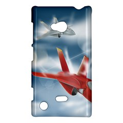 America Jet Fighter Air Force Nokia Lumia 720 Hardshell Case