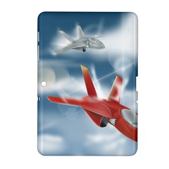 America Jet Fighter Air Force Samsung Galaxy Tab 2 (10 1 ) P5100 Hardshell Case