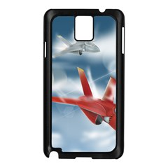 America Jet fighter Air Force Samsung Galaxy Note 3 N9005 Case (Black)