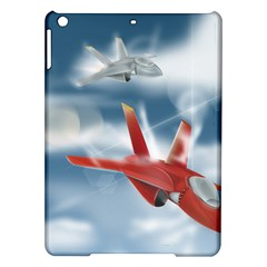 America Jet fighter Air Force Apple iPad Air Hardshell Case