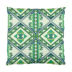 Green Pattern 2 Cushion Case (two Sided)