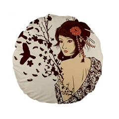 Come to life 15  Premium Round Cushion
