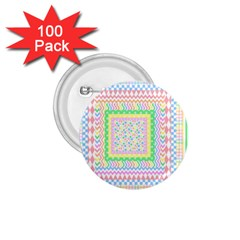 Layered Pastels 1.75  Button (100 pack)