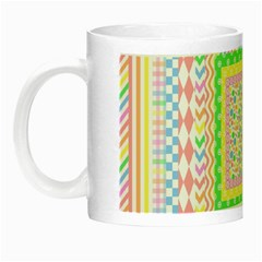 Layered Pastels Glow in the Dark Mug