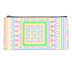Layered Pastels Pencil Case