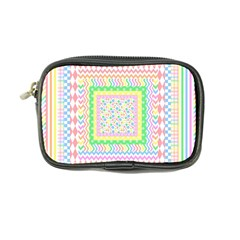 Layered Pastels Coin Purse