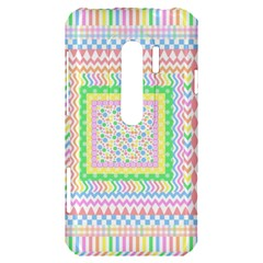 Layered Pastels HTC Evo 3D Hardshell Case