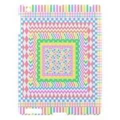 Layered Pastels Apple iPad 3/4 Hardshell Case