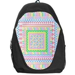 Layered Pastels Backpack Bag