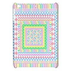 Layered Pastels Apple Ipad Mini Hardshell Case