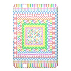 Layered Pastels Kindle Fire HD 8.9  Hardshell Case