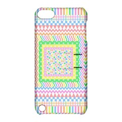 Layered Pastels Apple Ipod Touch 5 Hardshell Case With Stand