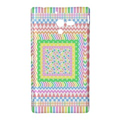Layered Pastels Sony Xperia ZL L35H Hardshell Case
