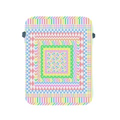 Layered Pastels Apple Ipad Protective Sleeve