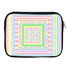 Layered Pastels Apple Ipad Zippered Sleeve