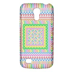 Layered Pastels Samsung Galaxy S4 Mini (GT-I9190) Hardshell Case