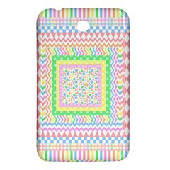 Layered Pastels Samsung Galaxy Tab 3 (7 ) P3200 Hardshell Case
