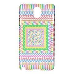 Layered Pastels Samsung Galaxy Note 3 N9005 Hardshell Case