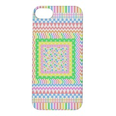 Layered Pastels Apple iPhone 5S Hardshell Case
