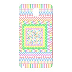Layered Pastels Samsung Galaxy Note 3 N9005 Hardshell Back Case