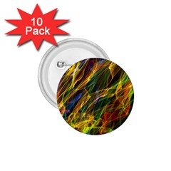 Colourful Flames  1.75  Button (10 pack)
