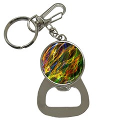 Colourful Flames  Bottle Opener Key Chain