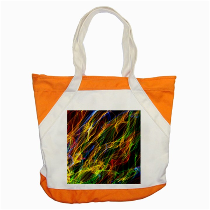 Colourful Flames  Accent Tote Bag