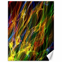 Colourful Flames  Canvas 12  x 16  (Unframed)