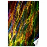 Colourful Flames  Canvas 12  x 18  (Unframed) 18 x12 Canvas - 1