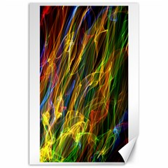 Colourful Flames  Canvas 20  x 30  (Unframed)