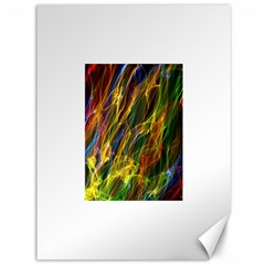 Colourful Flames  Canvas 36  X 48  (unframed)