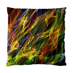 Colourful Flames  Cushion Case (Single Sided)