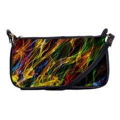 Colourful Flames  Evening Bag