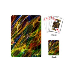 Colourful Flames  Playing Cards (Mini)