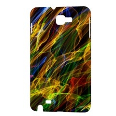 Colourful Flames  Samsung Galaxy Note 1 Hardshell Case