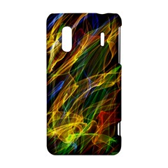 Colourful Flames  HTC Evo Design 4G/ Hero S Hardshell Case