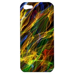 Colourful Flames  Apple Iphone 5 Hardshell Case