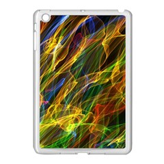Colourful Flames  Apple Ipad Mini Case (white)