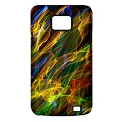 Colourful Flames  Samsung Galaxy S II i9100 Hardshell Case (PC+Silicone)