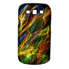 Colourful Flames  Samsung Galaxy S III Classic Hardshell Case (PC+Silicone)