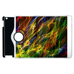 Colourful Flames  Apple iPad 3/4 Flip 360 Case