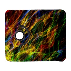 Colourful Flames  Samsung Galaxy S  III Flip 360 Case
