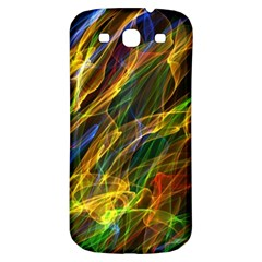Colourful Flames  Samsung Galaxy S3 S Iii Classic Hardshell Back Case