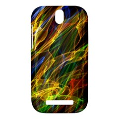 Colourful Flames  HTC One SV Hardshell Case