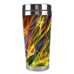 Colourful Flames  Stainless Steel Travel Tumbler