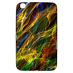 Colourful Flames  Samsung Galaxy Tab 3 (8 ) T3100 Hardshell Case