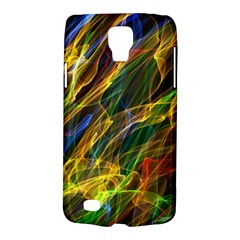 Colourful Flames  Samsung Galaxy S4 Active (I9295) Hardshell Case