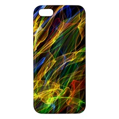 Colourful Flames  iPhone 5S Premium Hardshell Case