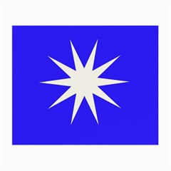 Deep Blue And White Star Glasses Cloth (small)